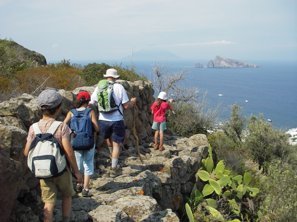 Hiking in the Lipari Islands with Aluna Voyages