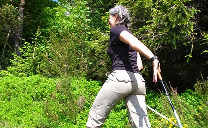 Nordic walking in Auvergne with Aluna Voyages