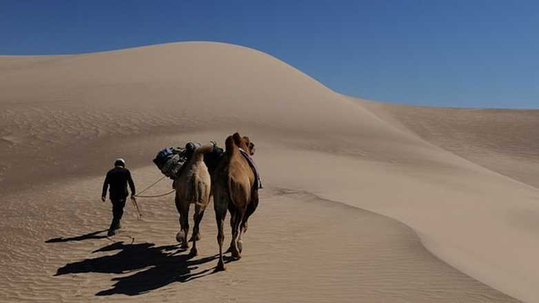 camel trek in Mongolia with Aluna Voyages