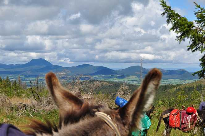 3 days holiday with a donkey with  Aluna Voyages