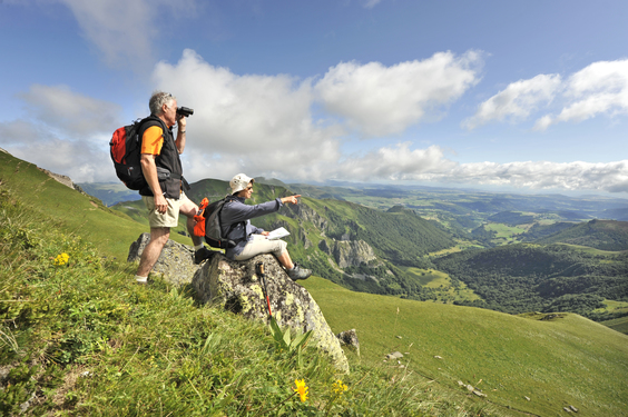 hiking tour in France with Aluna Voyages